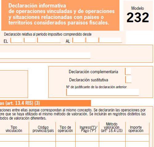 Resultado de imagen de EL 30 DE NOVIEMBRE FINALIZA EL PLAZO PARA DECLARAR LAS OPERACIONES VINCULADAS Y LAS OPERACIONES CON PARAÍSOS FISCALES