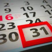 Calendario fiscal: Enero 2018
