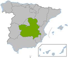 Mapa Castilla - La Mancha