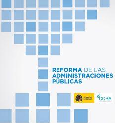 Reforma de las Administraciones Públicas - INEAF