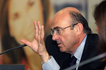 Luis de Guindos, Ministro de Economía y Competitividad - INEAF