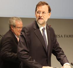 Presidente del gobierno, Mariano Rajo - INEAF