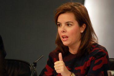 Vicepresidenta del Gobierno, Soraya Sáenz de Santamaría - INEAF