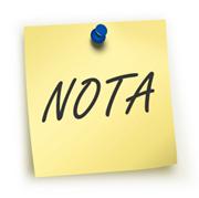 Nota - INEAF