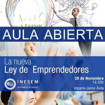 seminario ley de emprendedores - INEAF